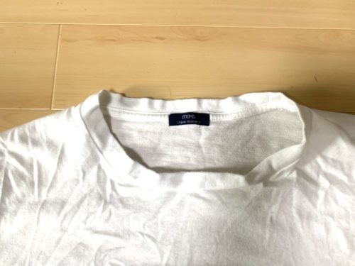 Tシャツのヨレ問題
